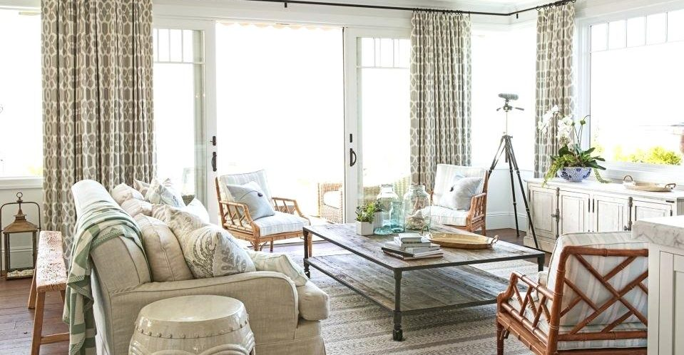 beach and coastal curtains