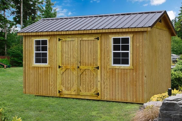 Basics to consider when building wooden Garden Shed